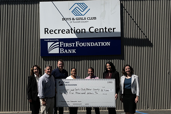 First Foundation Bank Supporting Our Communities